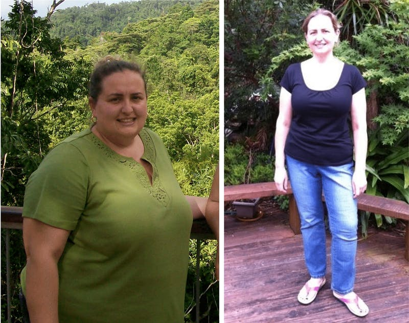 Before and after LCHF