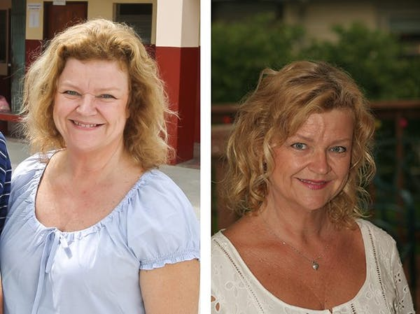 Before and with LCHF