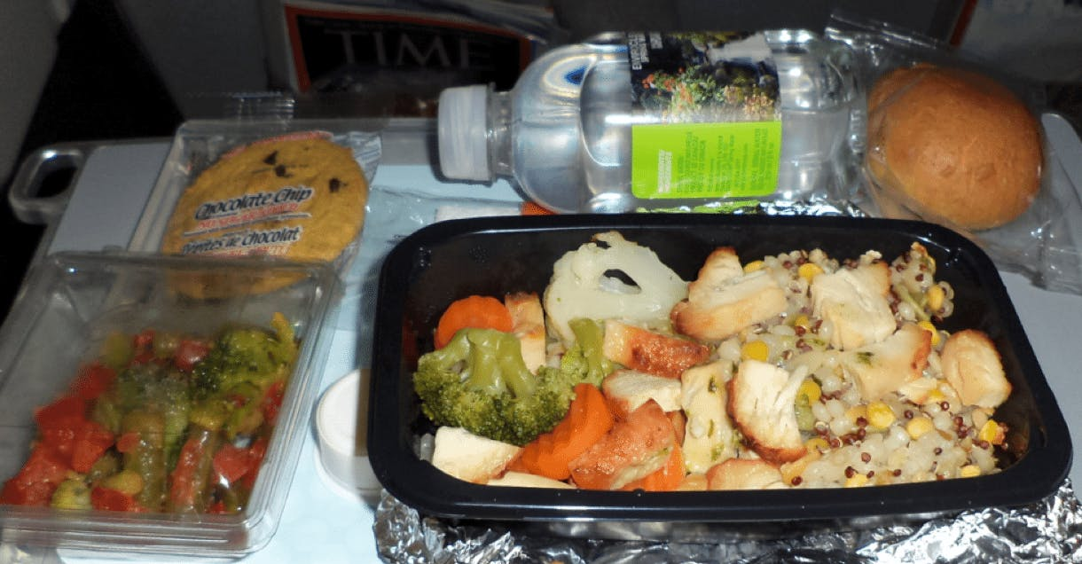 Airline diabetic meal