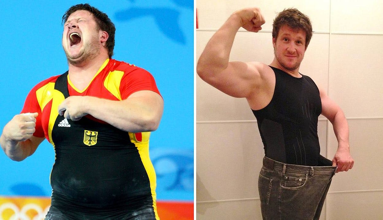 """Olympic hero's """"transformation"""" with low-carb"""
