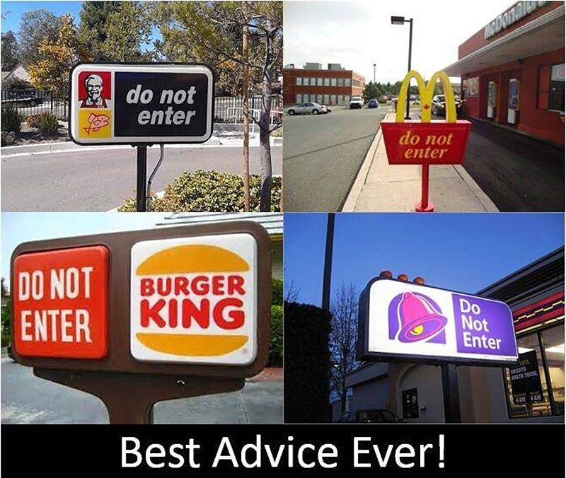 Best Advice Ever?