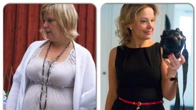"""Before and after LCHF"""