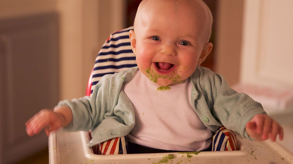 Baby Dinner: Broccoli with Butter
