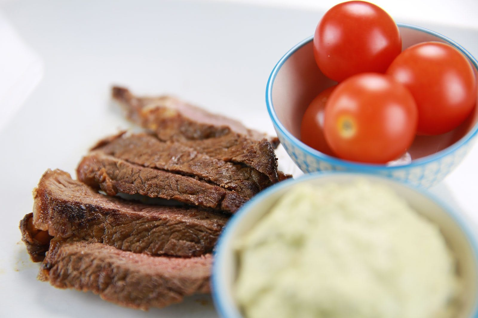 Chipotle-Spiced Rib-Eye Steak with Avocado Mayonnaise