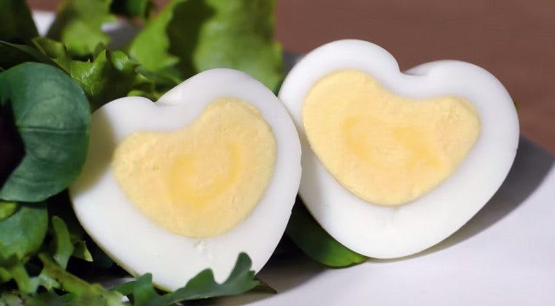 How to Make Heart-Shaped Eggs for Valentine's Day