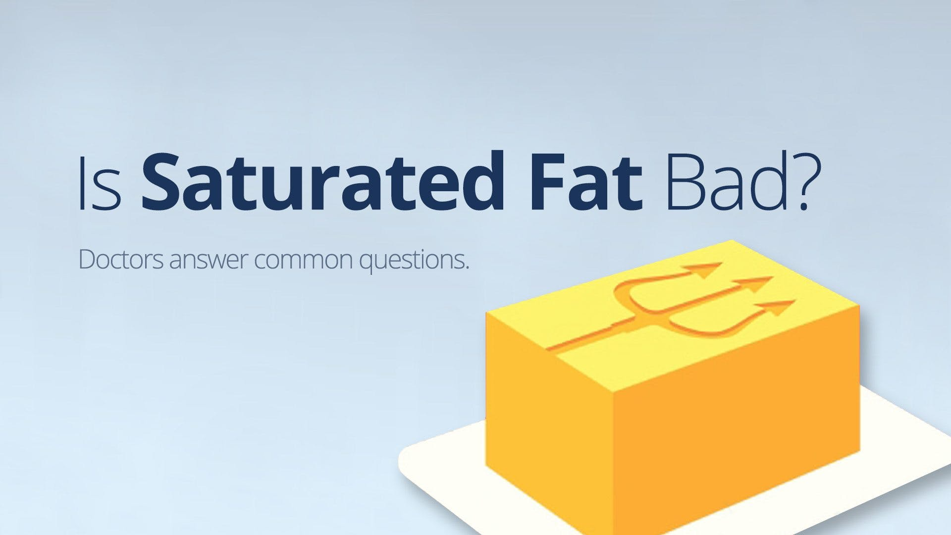 <strong>#1</strong> Video of 2016 – Is Saturated Fat Bad?