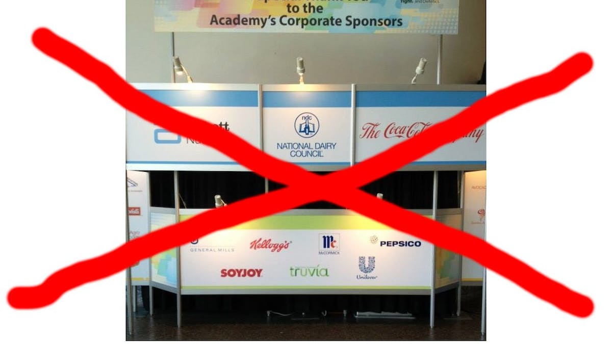How to break free of corporate sponsorship