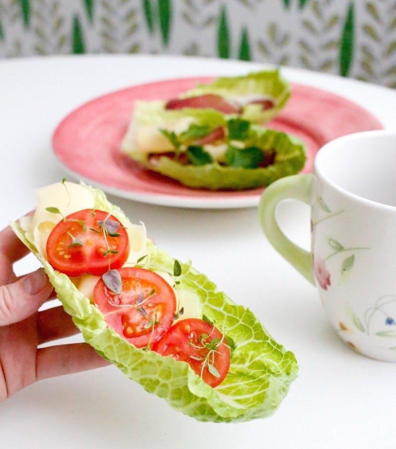 Salad sandwiches