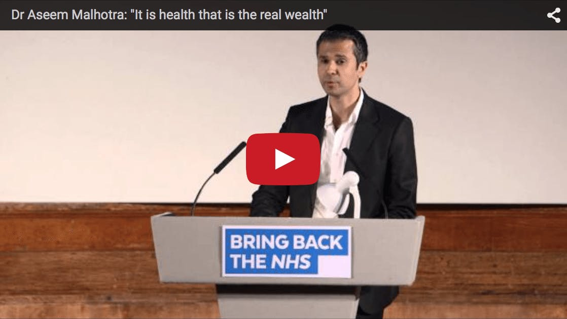 """It Is Health That Is the Real Wealth"""