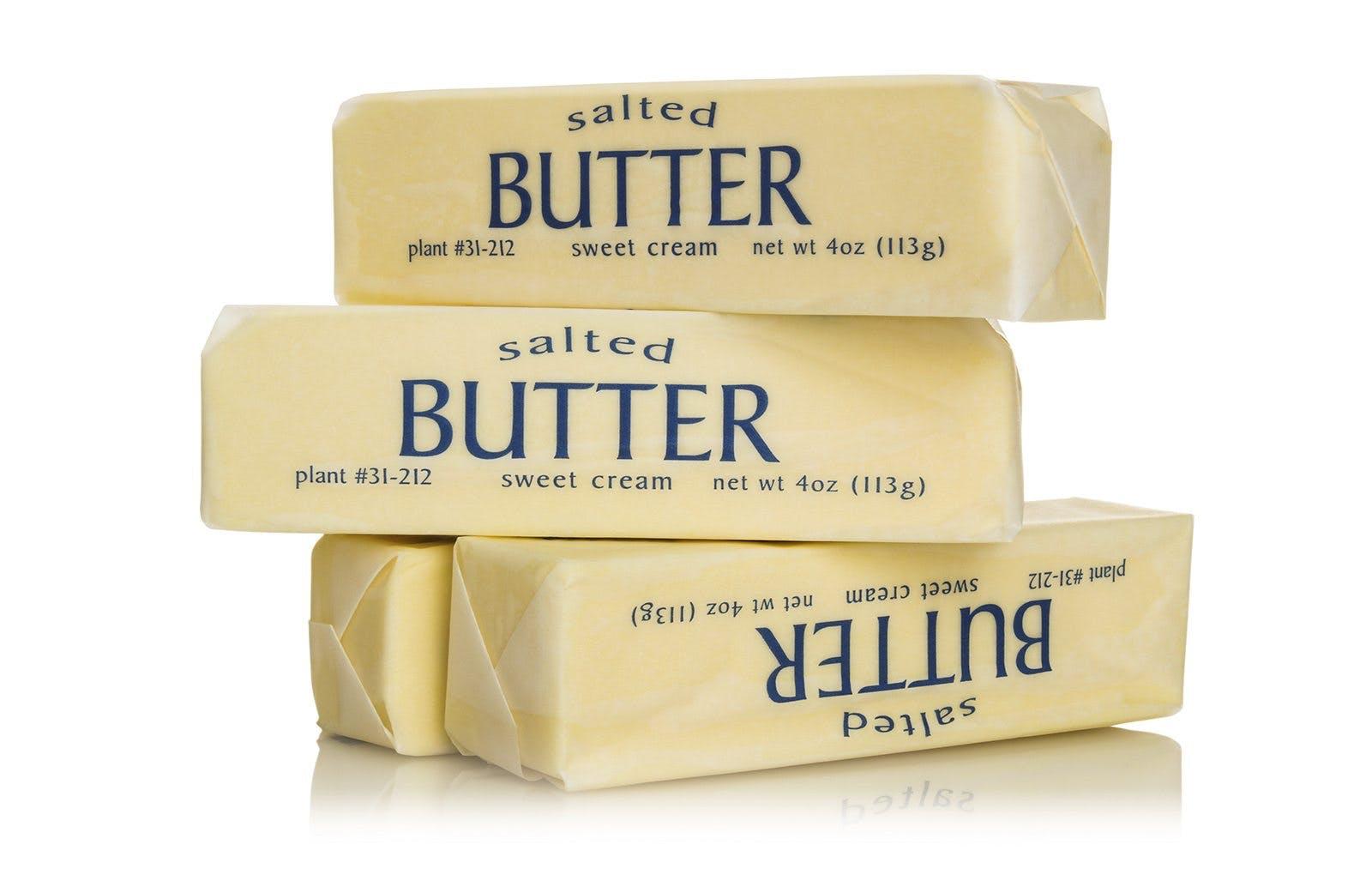 sticks of butter