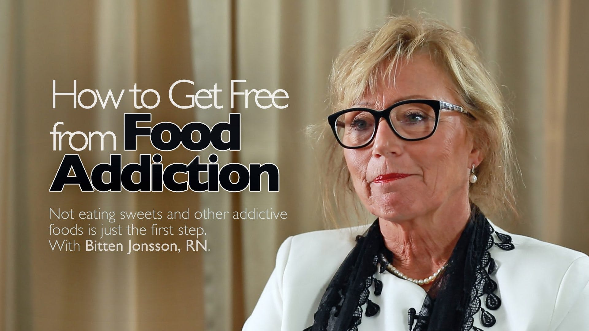 How to Free Yourself from Sugar Addiction – Bitten Jonsson