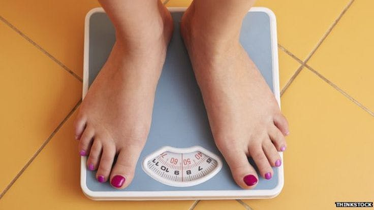 """Obesity: 'Slim chance' of return to normal weight"""