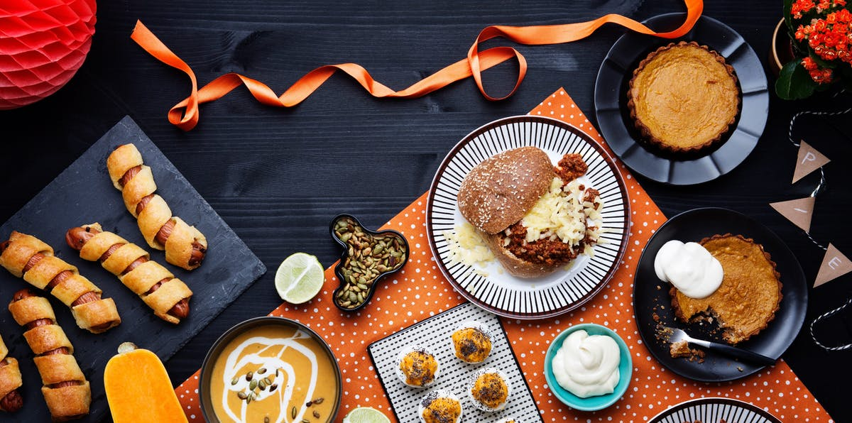 Haunted low-carb and keto Halloween treats