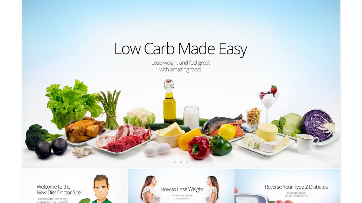 Welcome to the new Diet Doctor site!