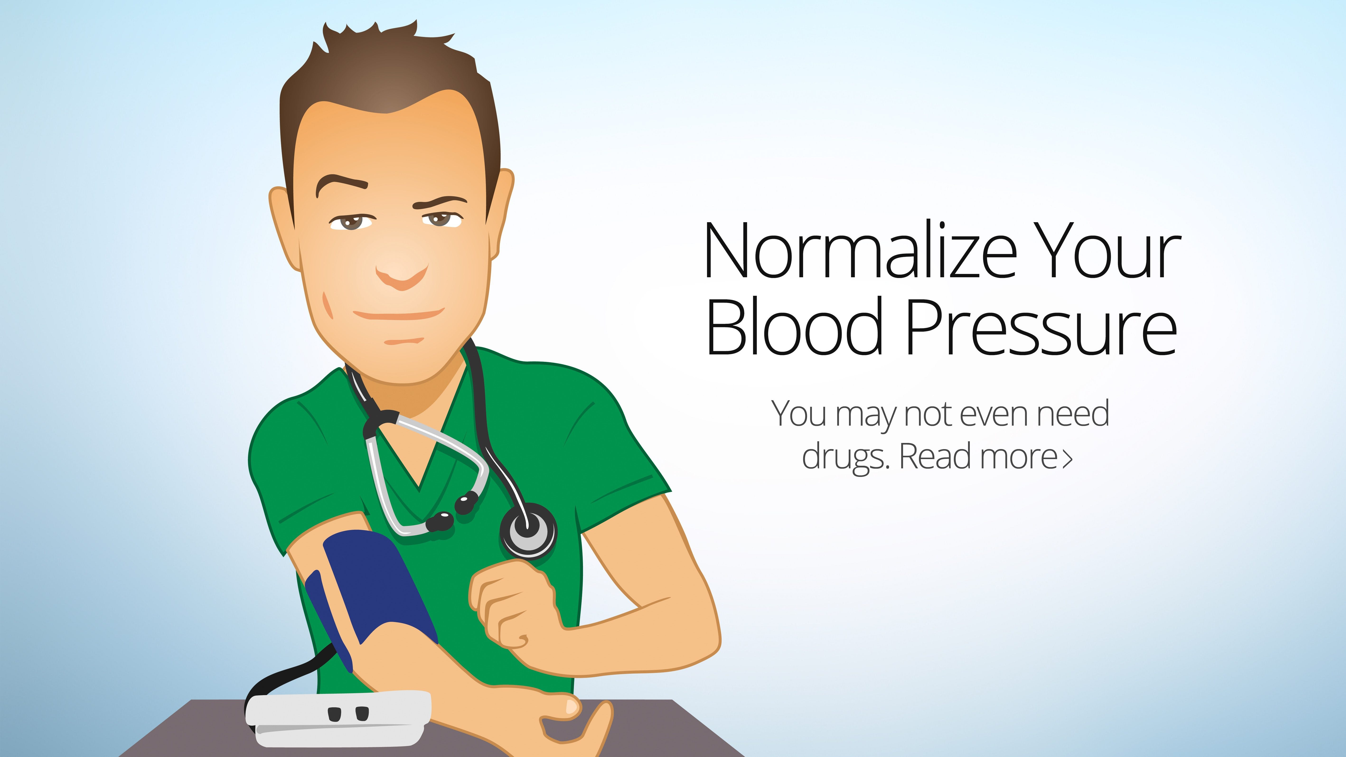 Normalize Your Blood Pressure