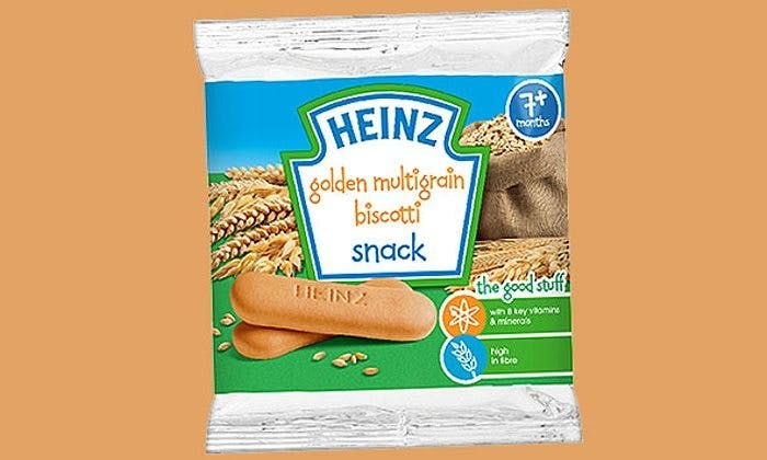 Heinz Recommends Sugary Cookies to Babies for Normal Brain Development