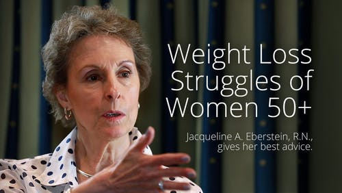 Weight-loss struggles of women 50+