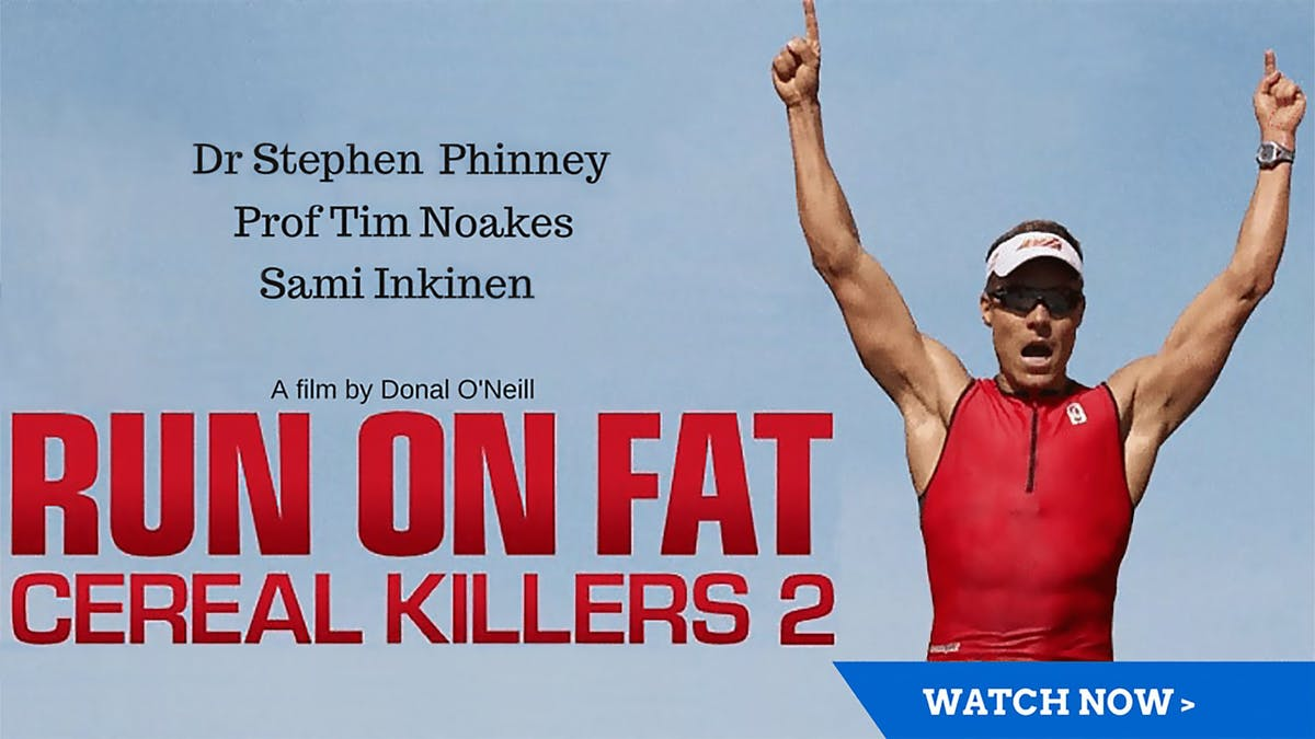 Watch the LCHF movie Run on Fat – free with membership trial