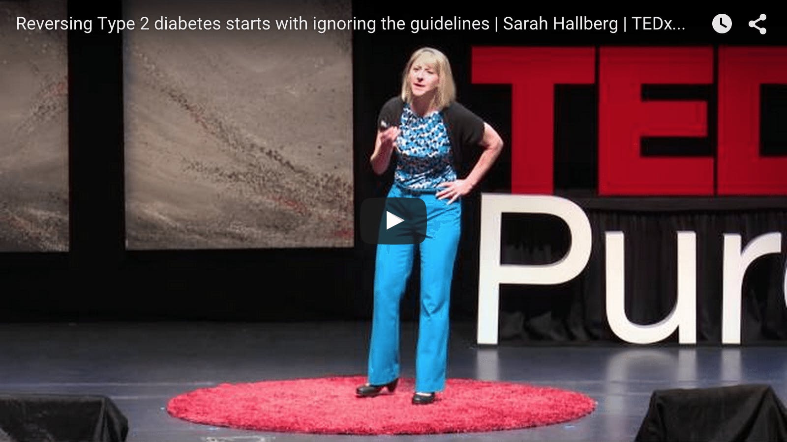 More on Dr. Sarah Hallberg and LCHF