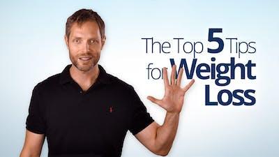 减肥的五大秘诀