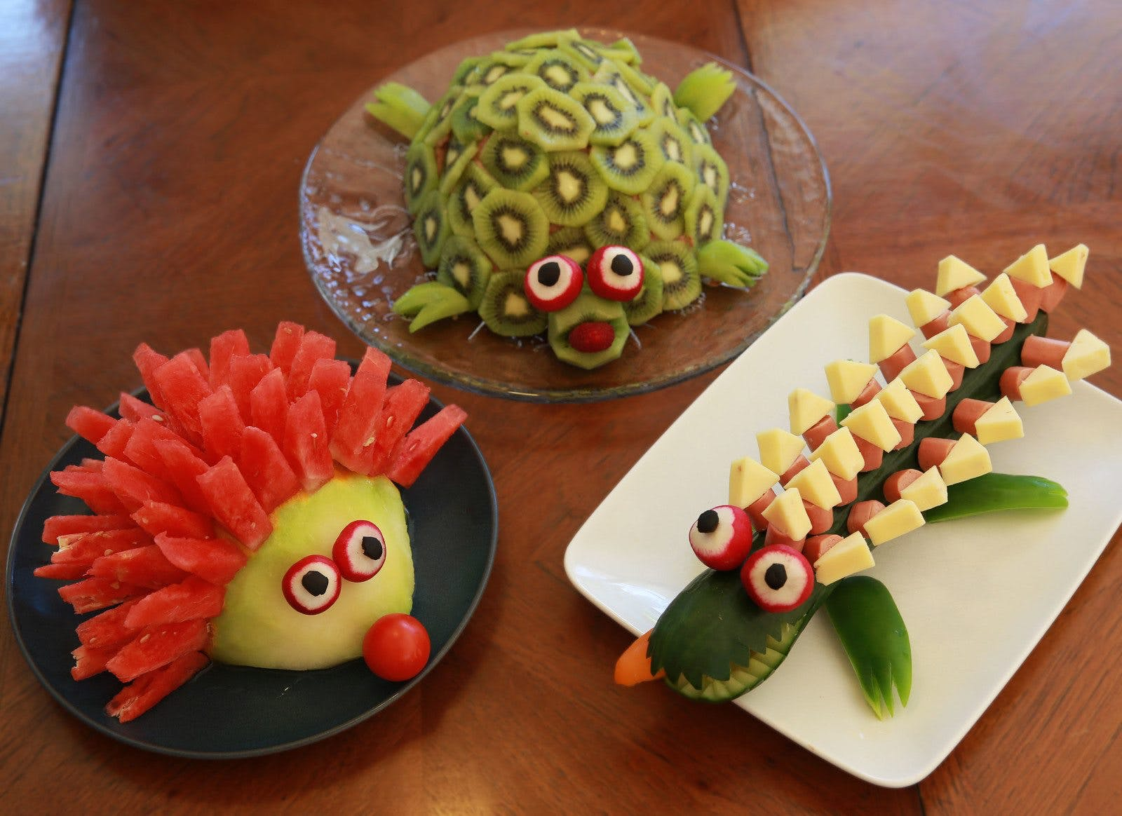 4-Year-Old's Party with Animal Cakes – and Not Much Sugar