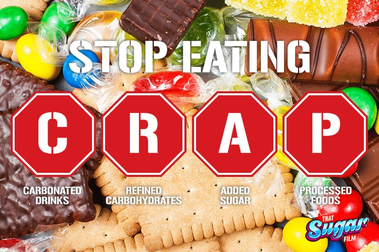 Stop eating CRAP