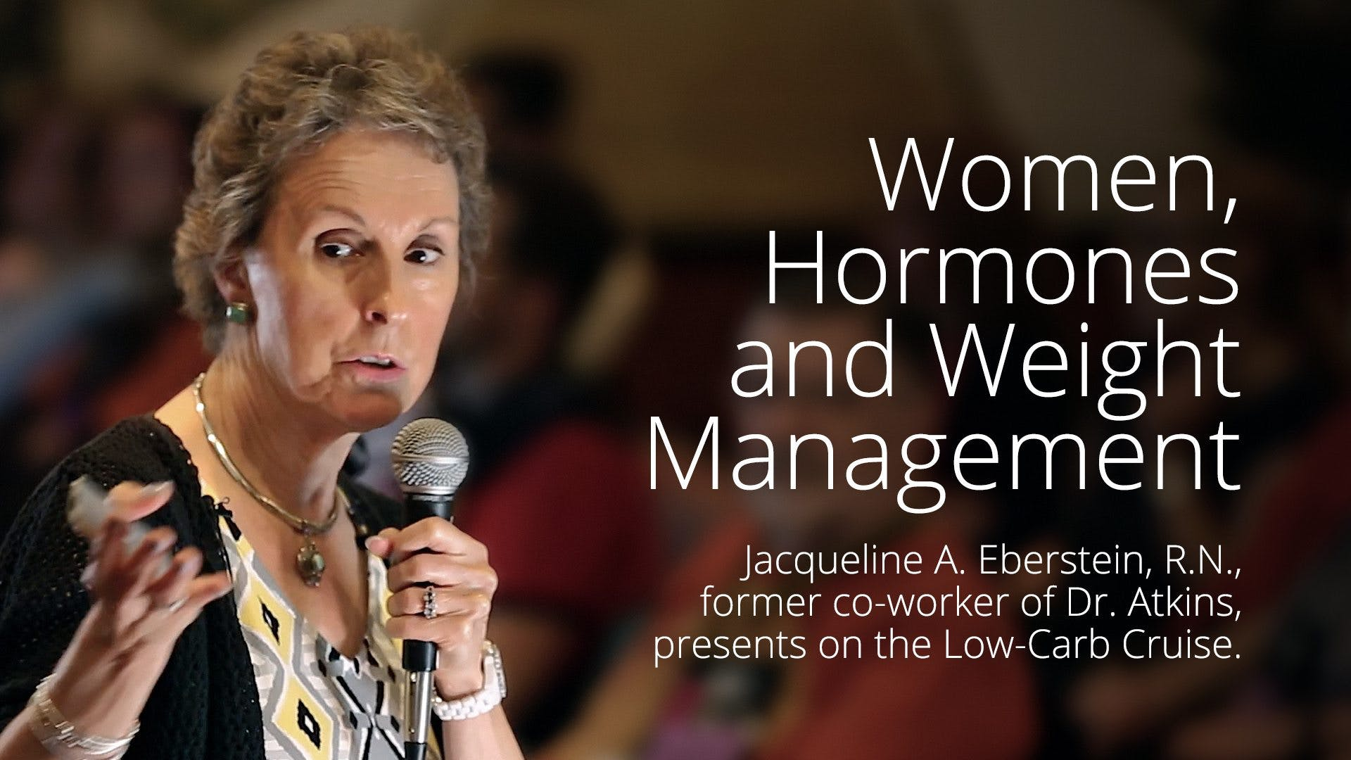 Hormones and Weight Management – Jackie Eberstein
