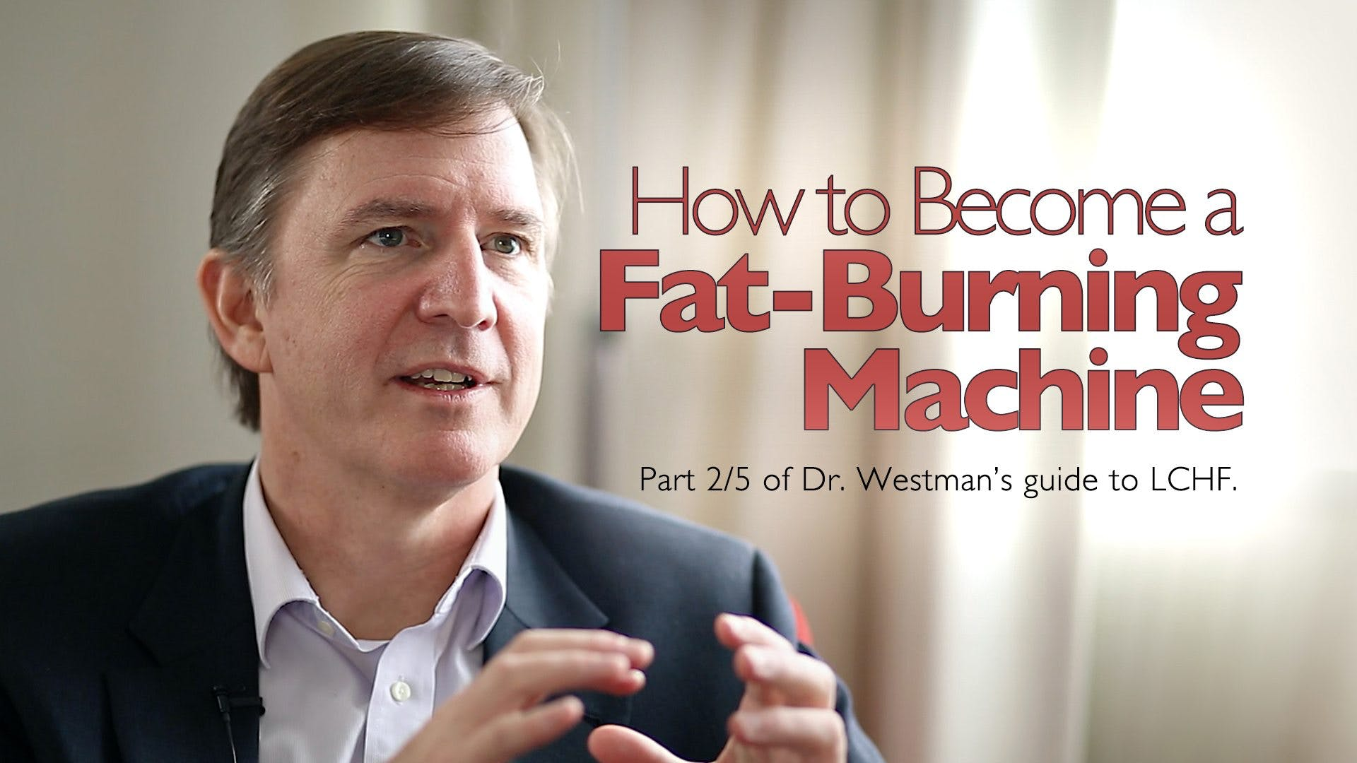 How to become a fat-burning machine