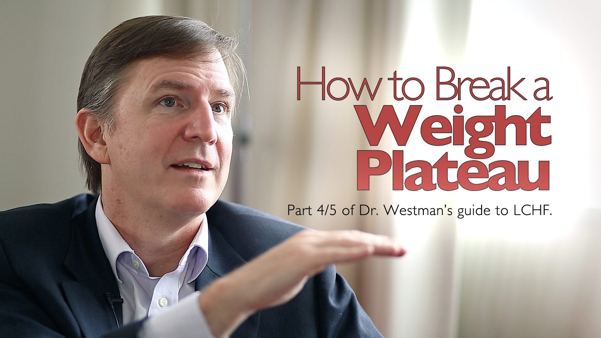 How to Break a Weight Plateau