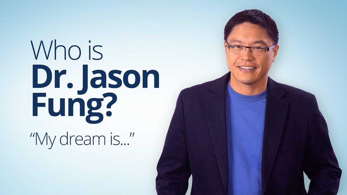 他是博士。杰森冯?吗?