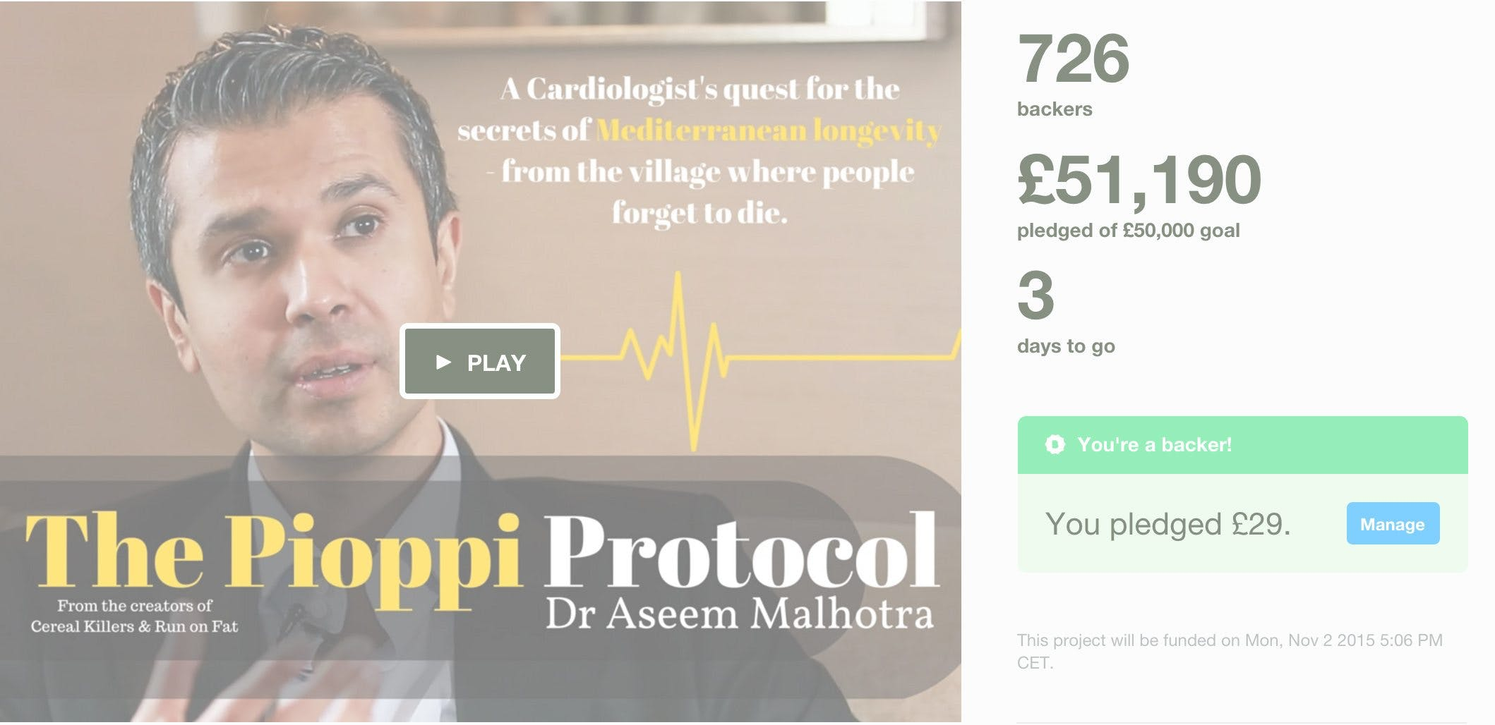 The Pioppi Kickstarter a Success!