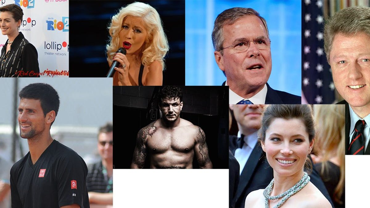 Famous people on the paleo diet