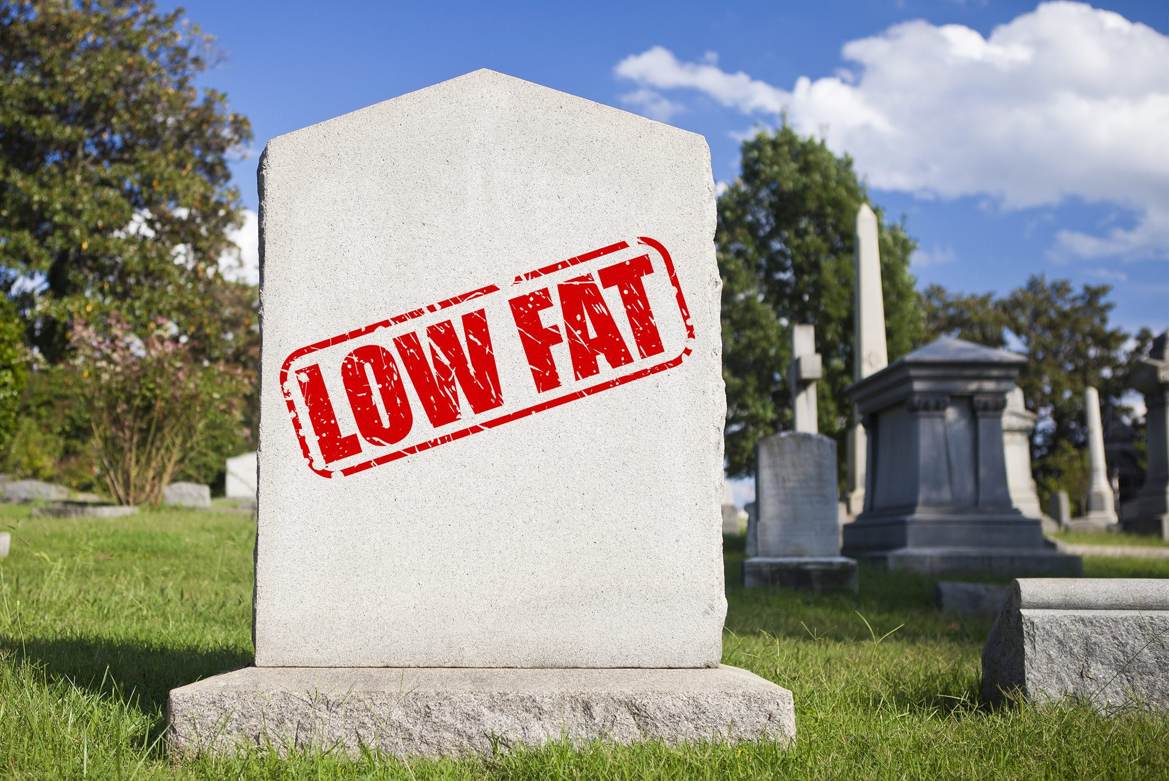 The death of the low-fat diet (again)