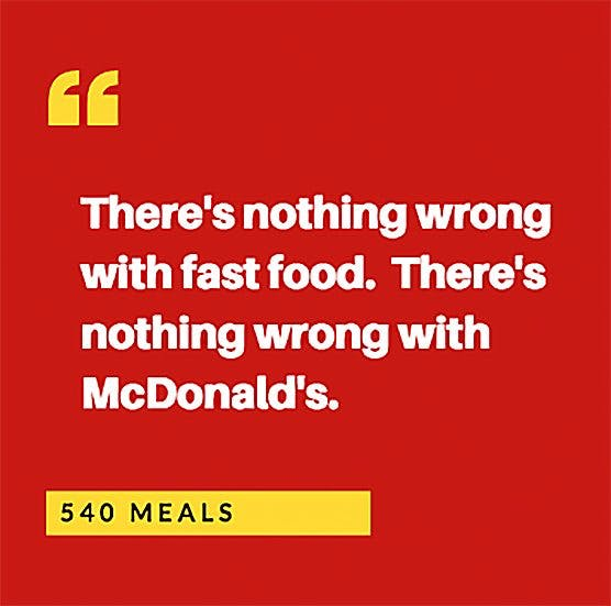 McDonald's 20-minute infomercial coming to a school near you
