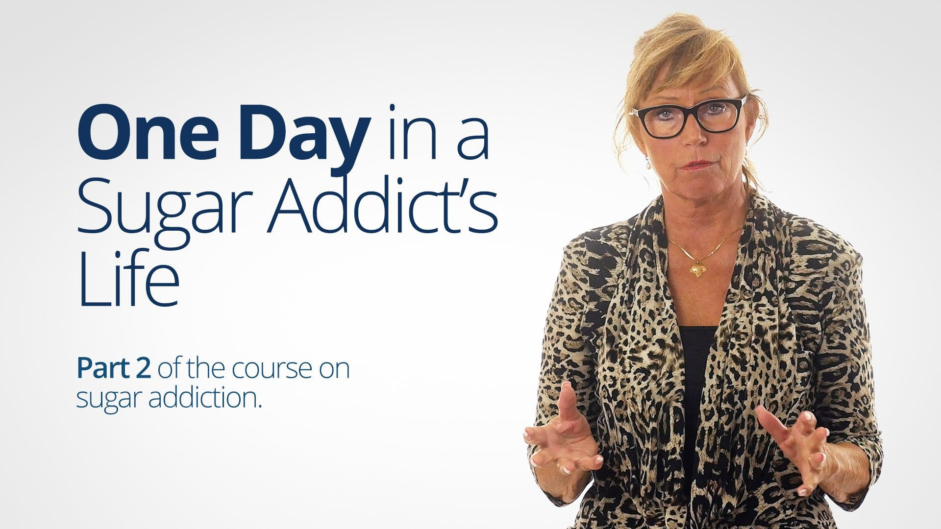 One Day in A Sugar Addict's Life – Bitten Jonsson