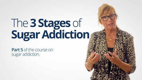 The 3 stages of sugar addiction
