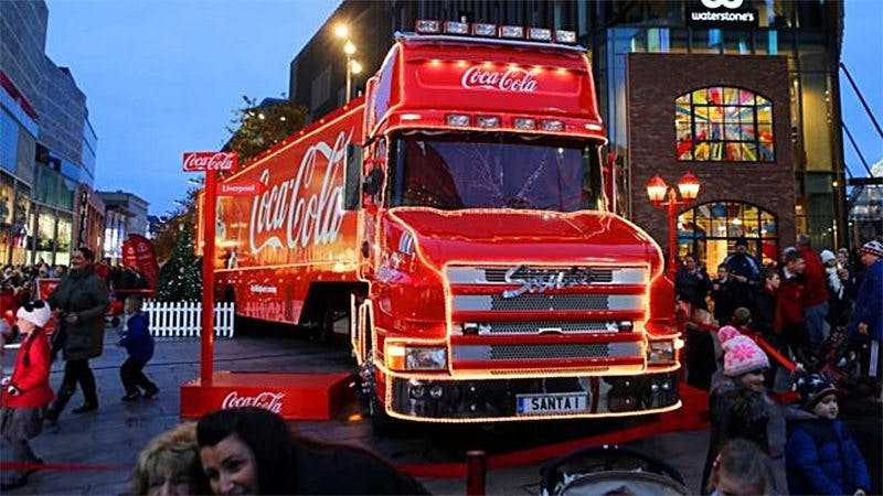 Coca-Cola Christmas Truck Not Welcome in Leicester