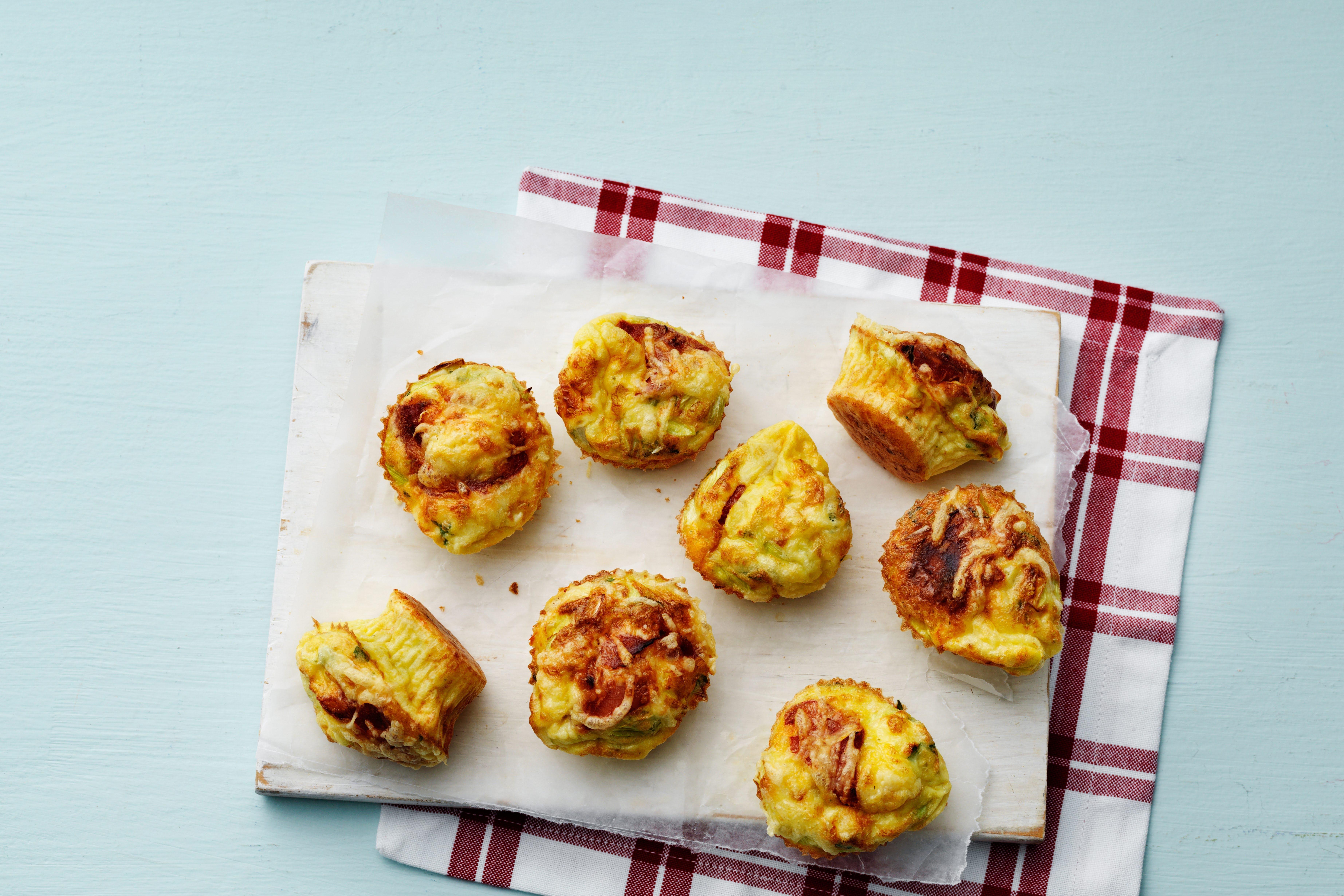 Keto egg muffins