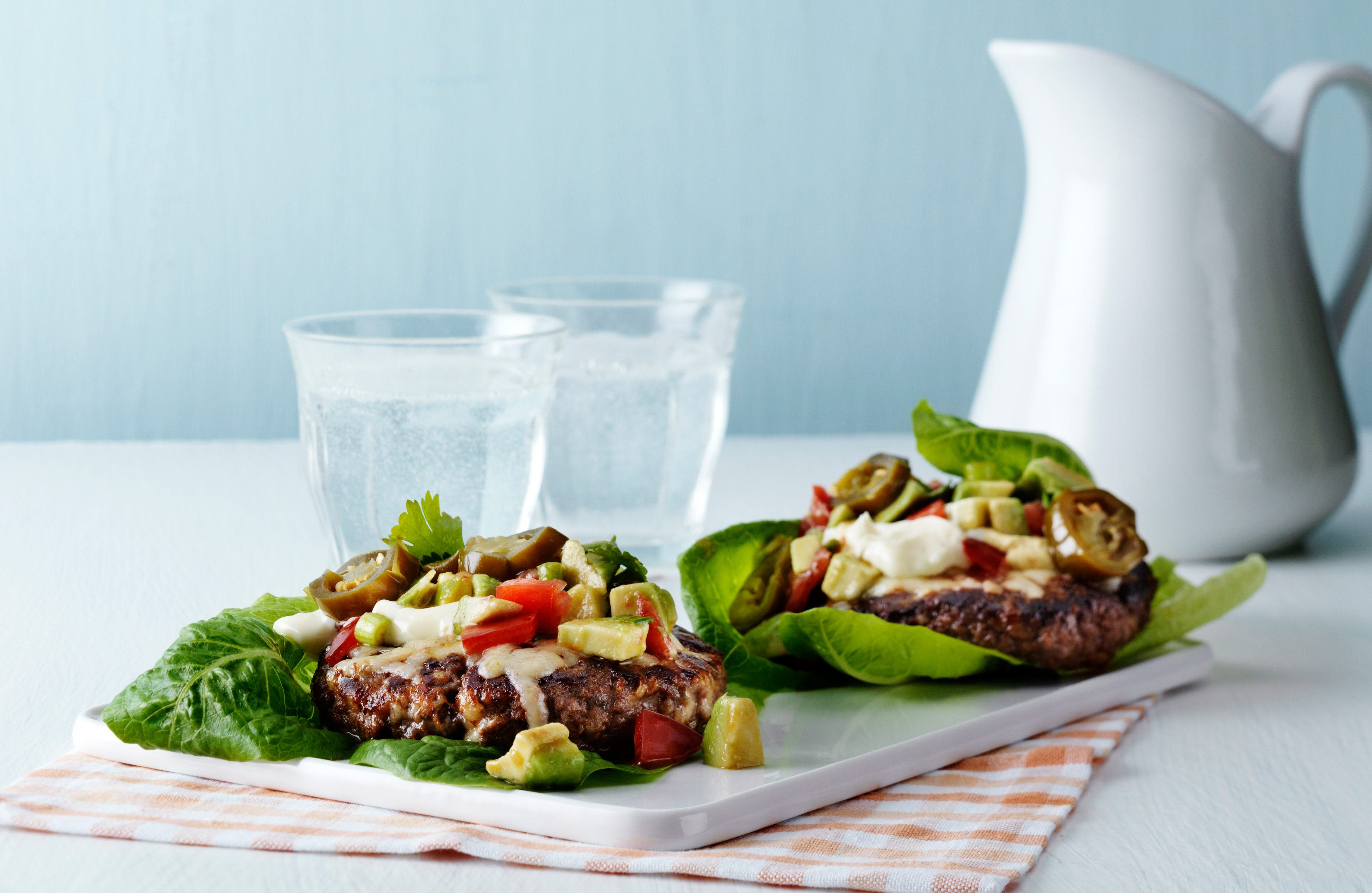Low-Carb Cheeseburger
