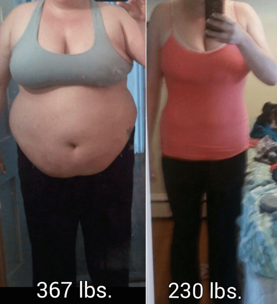 """""""I still have 30 pounds to lose, but I've already won"""""""