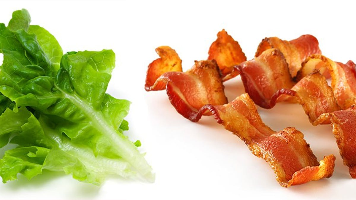 Lettuce three times worse for the climate than bacon