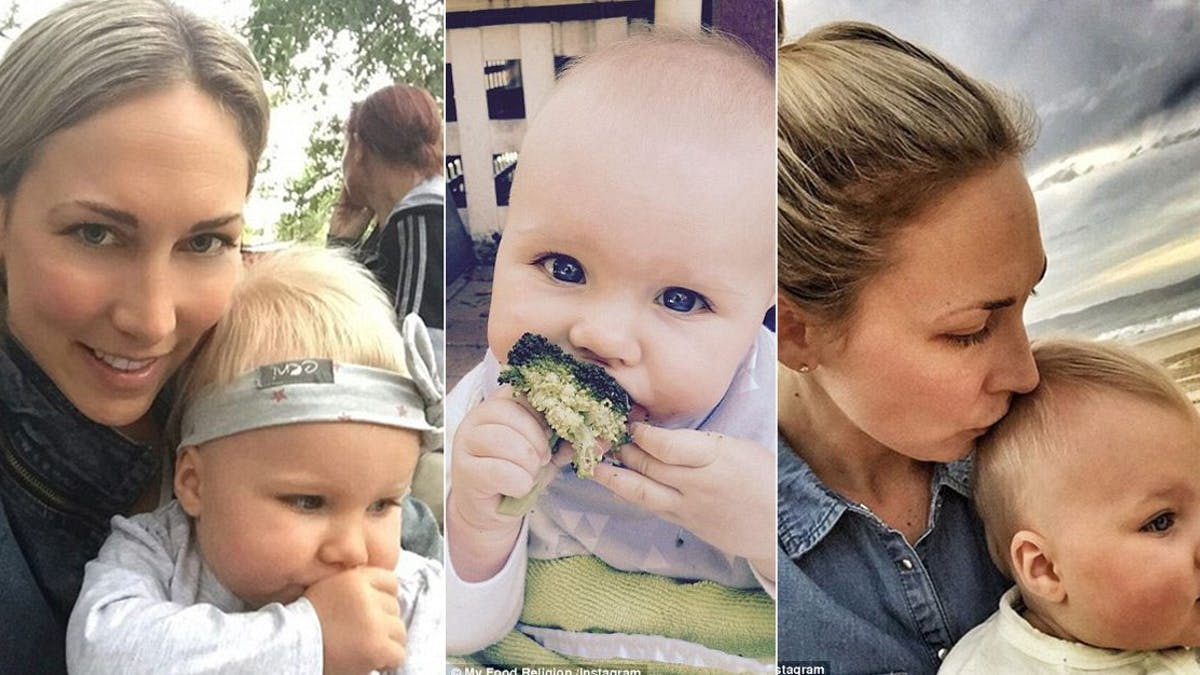 Another paleo baby: sick only once in her life – but dietitian freaks out