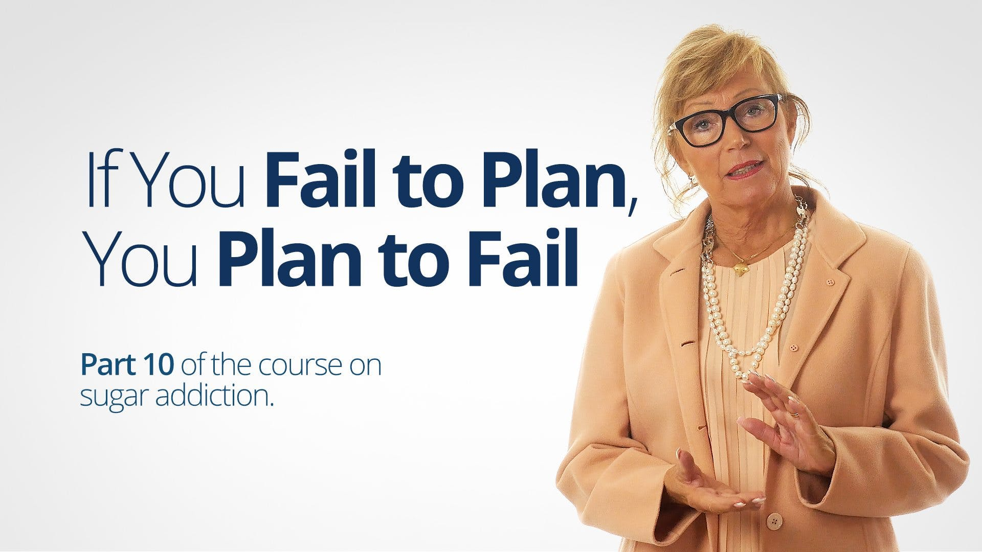 If You Fail to Plan, You Plan to Fail – Bitten Jonsson