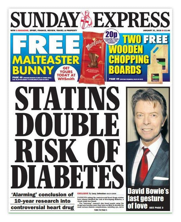 More Bad News for Statins