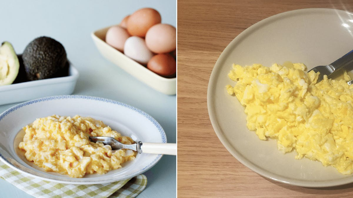 Low-carb challenge day 4: Scrambled eggs