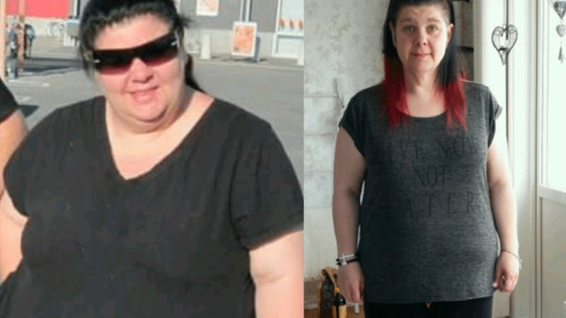 Losing 140 pounds with fat