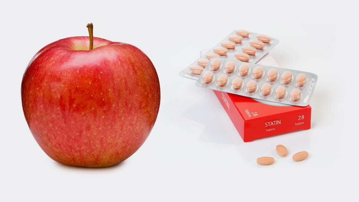 Swap Statins for a Daily Apple to Improve Heart Health, Say Health Experts