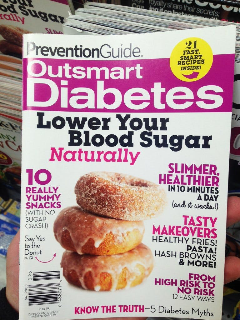 Outraged at Walmart: Donuts for diabetes?