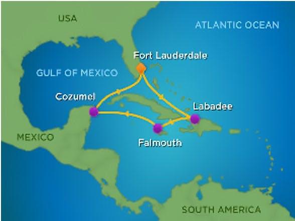 Aerial Labadee