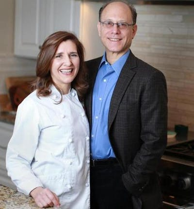 Professor Ludwig and his wife, chef Dawn Ludwig